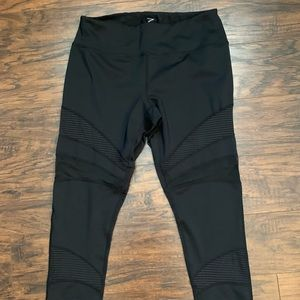 Zella Mesh Detailed Leggings